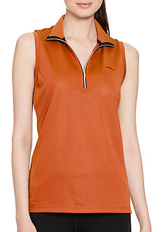 Lauren Active Sleeveless Mock Neck Shirt