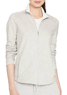 Lauren Active Mesh-Paneled Stretch Jacket
