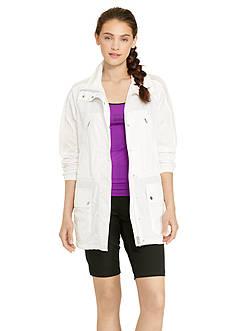 Lauren Active Full-Zip Mockneck Jacket