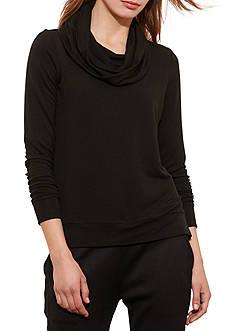 Lauren Ralph Lauren Cowlneck Jersey Pullover