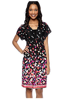 New Directions Dotted Dress