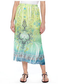 New Directions Sublimation Print Skirt