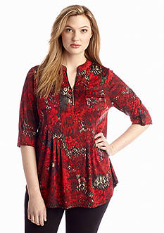 New Directions® Plus Size Knit Top