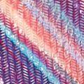 Petite Maxi Dress: Fuchia/Turquoise New Directions Petite Chevron Maxi Dress