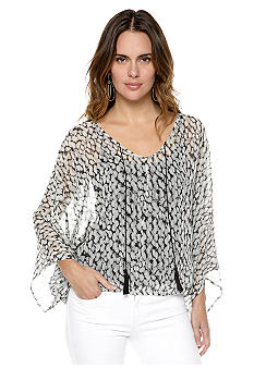 Sanctuary Poncho Blouse