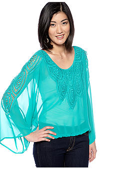 Sanctuary Santa Fe Dolman Sleeve Blouse