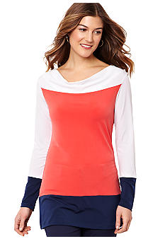 Nautica Colorblock Tunic