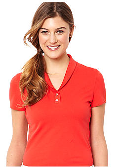 Nautica Shawl Collar Polo Shirt