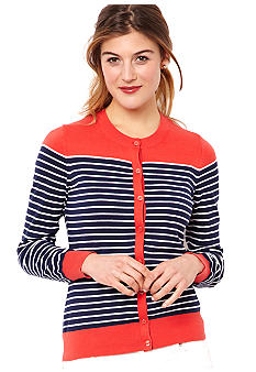 Nautica Breton Stripe Colorblock Sweater