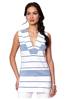 Nautica Mixed Striped Tunic