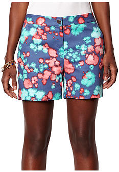 Nautica Watercolor Floral Print Shorts