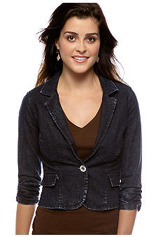 Self Esteem Denim Blazer