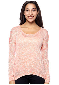 Big Star Amelia Marled Dolman Sleeve Top