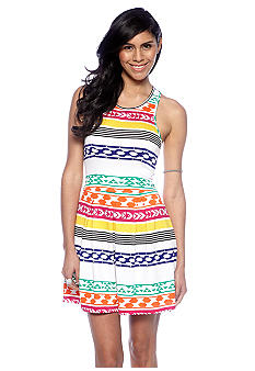 Big Star Fabe Tribal Print Dress