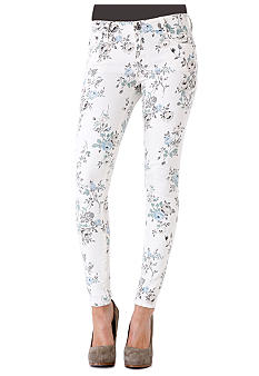 Big Star Alex Printed Mid-Rise Skinny Jean
