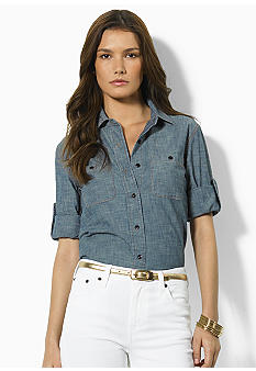 Lauren Jeans Co. Carter Cotton Shirt