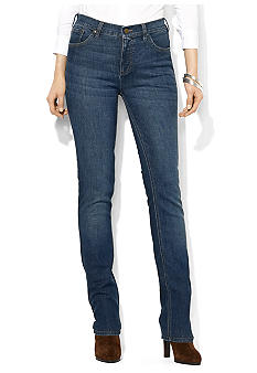 Lauren Jeans Co. Slimming Classic Straight Pant