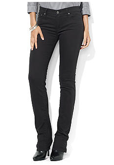 Lauren Jeans Co. Slimming Modern Straight Jean