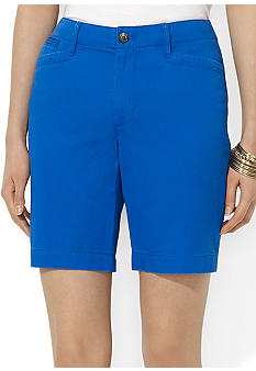 Lauren Jeans Co. Twill 5-Pocket Short