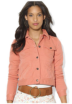 Lauren Ralph Lauren Colored Jean Jacket