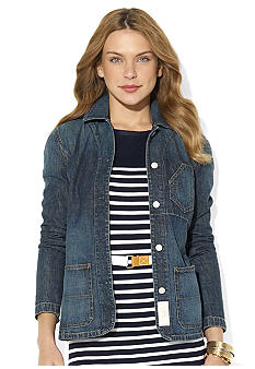 Lauren Jeans Co. Denim Workwear Jacket