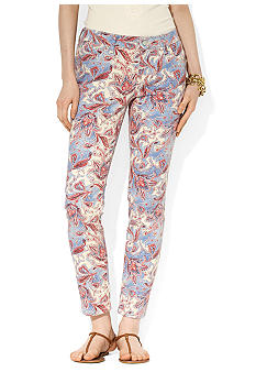 Lauren Jeans Co. Paisley Straight Ankle Pants