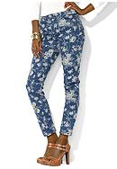 Lauren Jeans Co. Modern Printed Straight Ankle