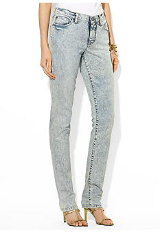 Lauren Jeans Co. Modern Straight Jean