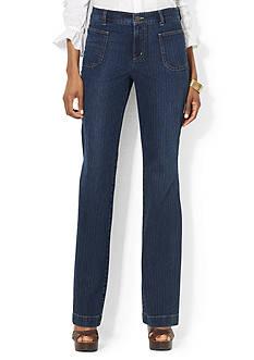 Lauren Jeans Co. Patch-Pocket Jean