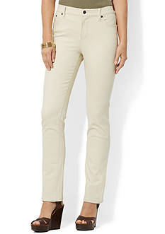 Lauren Jeans Co. Slimming Classic Straight Jean