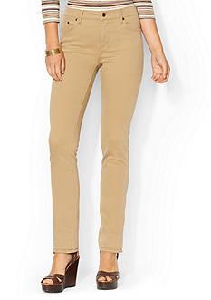 Lauren Jeans Co. Super-Stretch Classic Jean