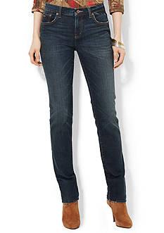 Lauren Jeans Co. Premium Modern Skinny Park-Wash Jean