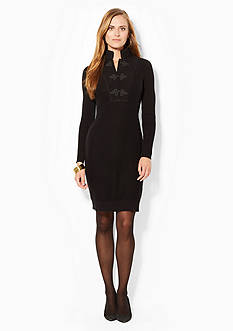 Lauren Jeans Co. Mockneck Sweater Dress
