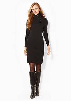 Lauren Jeans Co. Shawl Fleece Dress