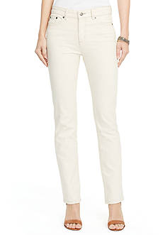 Lauren Jeans Co. Premier Straight Jean