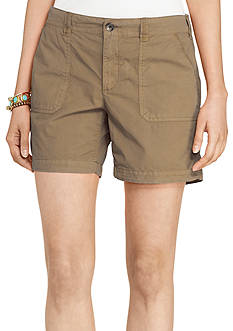 Lauren Jeans Co. Cotton Twill Short