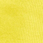 Designer Tops for Women: Coastal Yellow Lauren Jeans Co. Ribbed Cotton Tee