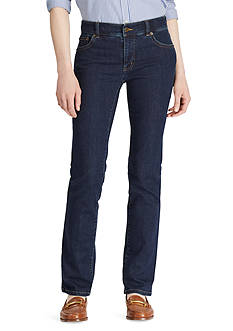 Lauren Jeans Co. Slimming Classic Straight Jeans