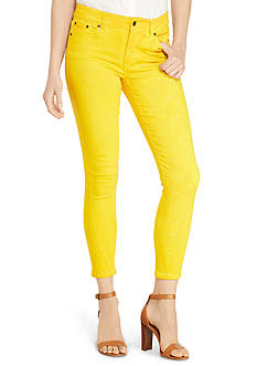 Lauren Jeans Co. Cropped Skinny Premier Jeans