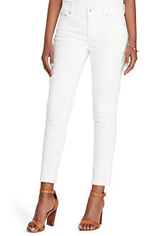 Lauren Jeans Co. Skinny-Fit Cropped Pant