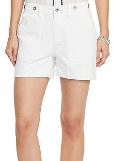Lauren Jeans Co. Patch Pocket Shorts