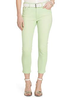 Lauren Jeans Co. Premier Cropped Skinny Jeans