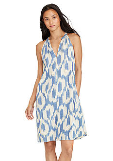 Lauren Jeans Co. Ikat-Print Cotton Dress
