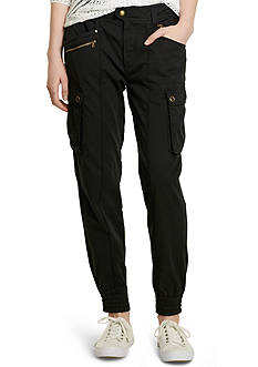 Lauren Jeans Co. Cotton Cargo Pants