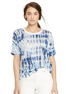Lauren Jeans Co. Tie-Dye Linen Tee