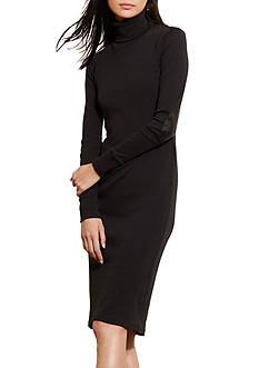 Lauren Jeans Co. Cotton Turtleneck Dress