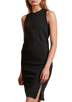 Lauren Jeans Co. Paneled French Terry Dress