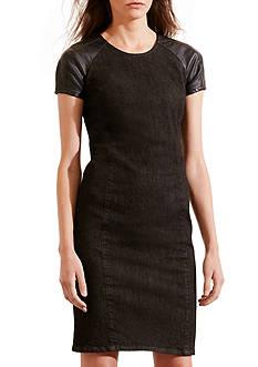 Lauren Jeans Co. Denim Sheath Dress
