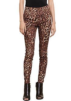 Lauren Jeans Co. Ocelot-Print Skinny Jean