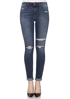 Joe's Jeans Destructed Roll Ankle Skinny Jeans